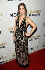 BILLIE LOURD at 3rd Annual Moet Moment Film Festival Golden Globes Week in Los Angeles 01/05/2018