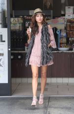 BLANCA BLANCO at a Gas Station in Malibu 01/20/2018