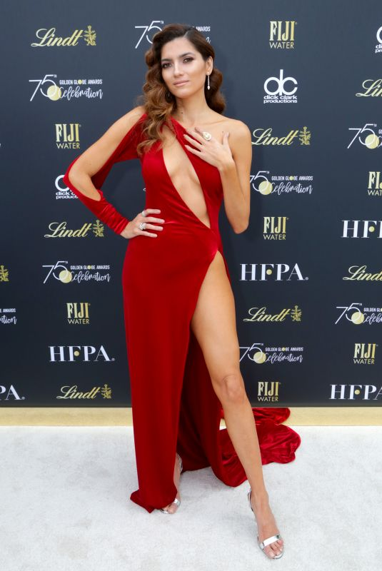 BLANCA BLANCO at Official Viewing and After-party of Golden Globe Awards in Beverly Hills 01/07/2018