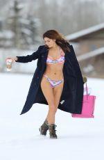 BLANCA BLANCO in Bikini Oout in the Snow in Park City 01/22/2018