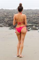 BLANCA BLANCO in Swimsuit at a Beach Malibu 01/15/2018