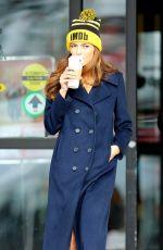 BLANCA BLANCO Leaves Starbucks in Park City 01/22/2018