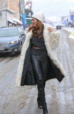 BLANCA BLANCO Out at Sundance Film Festival in Park City 01/20/2018