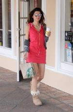 BLANCA BLANCO Out for a Coffee at Starbucks in Malibu 01/29/2018