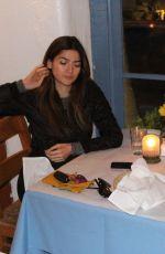 BLANCA BLANCO Out for Dinner at Taverna Tony in Malibu 01/30/2018