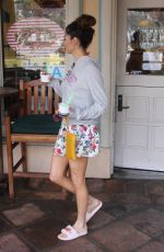 BLANCA BLANCO Out for Ice Cream in Malibu 01/13/2018