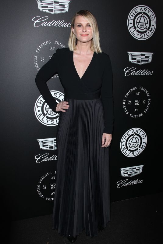 BONNIE SOMERVILLE at The Art of Elysium Heaven in Los Angeles 01/06/2018
