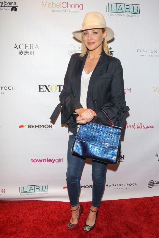 BRIANNE DAVIS at Secret Room Golden Globe Gifting Suite in Los Angeles 01/06/2018