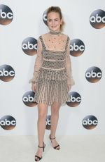 BRITT ROBERTSON at ABC All-star Party at TCA Winter Press Tour in Los Angeles 01/08/2018