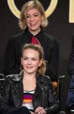 BRITT ROBERTSON at For the People TV Show Panel at TCA Winter Press Tour in Los Angeles 01/08/2018