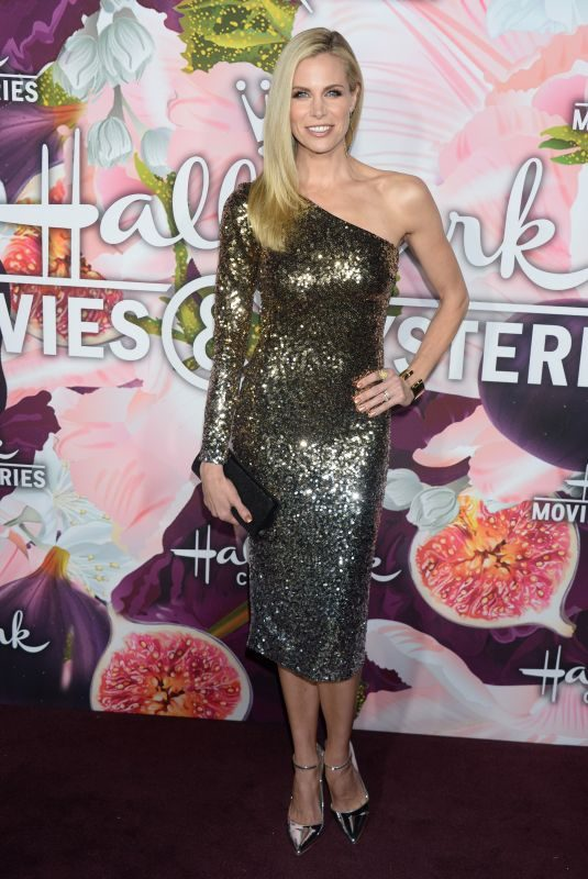 BROOKE BURNS at Hallmark Channel All-star Party in Los Angeles 01/13/2018