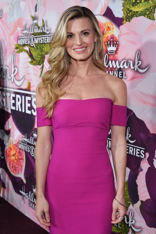 BROOKE D'ORSAY at Hallmark Channel All-star Party in Los Angeles 01/13/2018