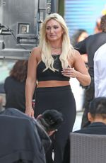 BROOKE HOGAN at an Event at National Hotel in Miami Beach 01/08/2018