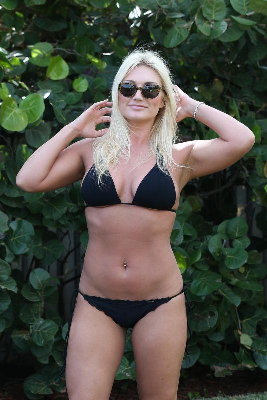 BROOKE HOGAN in Bikini in Miami 01/07/2018