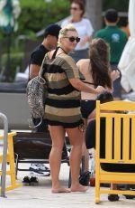 BROOKE HOGAN Leaves Pool at Her Hotel in Miami Beach 01/08/2018