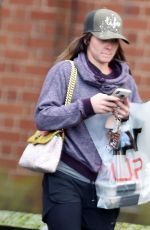 BROOKE VINCENT Leaves a Gym in Manchester 01/11/2018