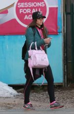BROOKE VINCENT Out in Altrincham 01/18/2018