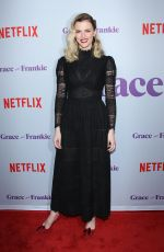 BROOKLYN DECKER at Grace and Frankie Season 4 Premiere in Los Angeles 01/18/2018