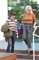 BUSY PHILIPPS and KELLY OXFORD Out Shopping at Fred Segal in West Hollywood 01/18/2018