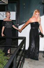BUSY PHILIPPS and MICHELLE WILLIAMS at Poppy Club in West Hollywood 01/08/2018