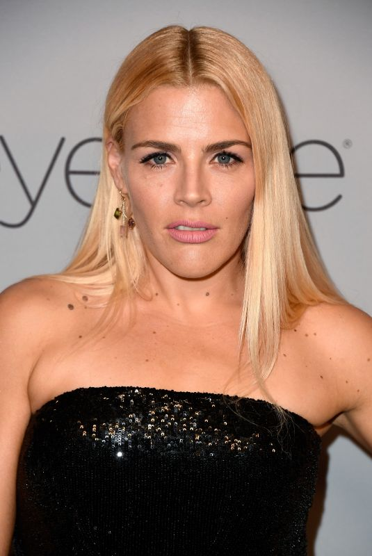 BUSY PHILIPPS at Instyle and Warner Bros Golden Globes After-party in Los Angeles 01/07/2018