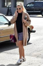 BUSY PHILIPPS Out and About in West Hollywood 01/16/2018