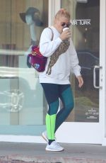 BUSY PHILIPPS Out for Coffee in Los Angeles 01/16/2018
