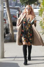 BUSY PHILIPPS Out for Kreation Juice in West Hollywood 01/02/2018