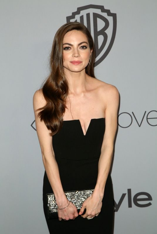 CAITLIN CARVER at Instyle and Warner Bros Golden Globes After-party in Los Angeles 01/07/2018