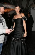 CAITRIONA BALFE Arrives at Chateau Marmont after Golden Globes in Los Angeles 01/07/2018