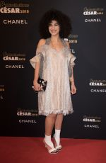 CAMELIA JORDANA at Cesar Revelations 2018 at Le Petit Palais in Paris 01/15/2018
