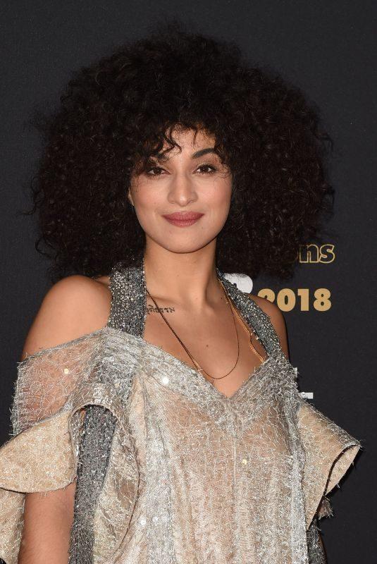 CAMELIA JORDANA at Cesar Revelations 2018 at Le Petit Palais in Paris 01/15/2018