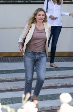 CAMERON DIAZ Out for Lunch at Waldorf Astoria Hotel in Beverly Hills 01/18/2018