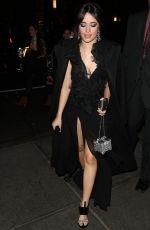 CAMILA CABELLO Arrives at Clive Davis Pre-Grammy Party in New York 01/27/2018
