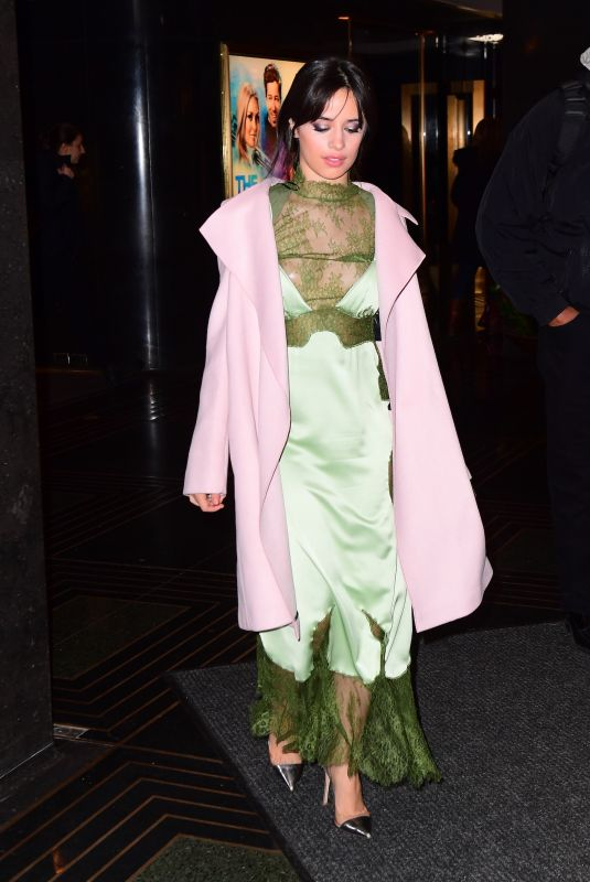 CAMILA CABELLO Leaves Tonight Show Starring Jimmy Fallon in New York 01/10/2018