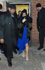 CAMILA CABELLO Leaves Youtube Brings the Boom Bap to New York 01/26/2018