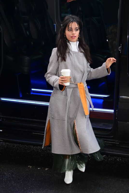 CAMILA CABELLO Out and About in New York 01/17/2018