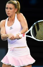 CAMILA GIORGI at Australian Open Tennis Tournament in Melbourne 01/19/2018