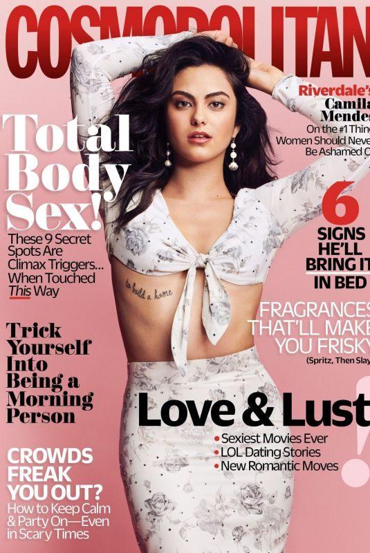 CAMILA MENDES for Cosmopolitan Magazine, February 2018