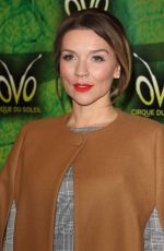 CANDICE BROWN at Cirque Du Soleil Ovo Premiere in London 01/10/2018