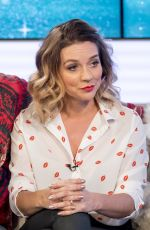 CANDICE BROWN at This Morning Show in London 01/15/2018