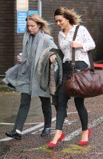 CANDICE BROWN Leaves ITV Studios in London 01/15/2018