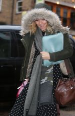 CANDICE BROWN Out and About in Hertfordshire 01/15/2018