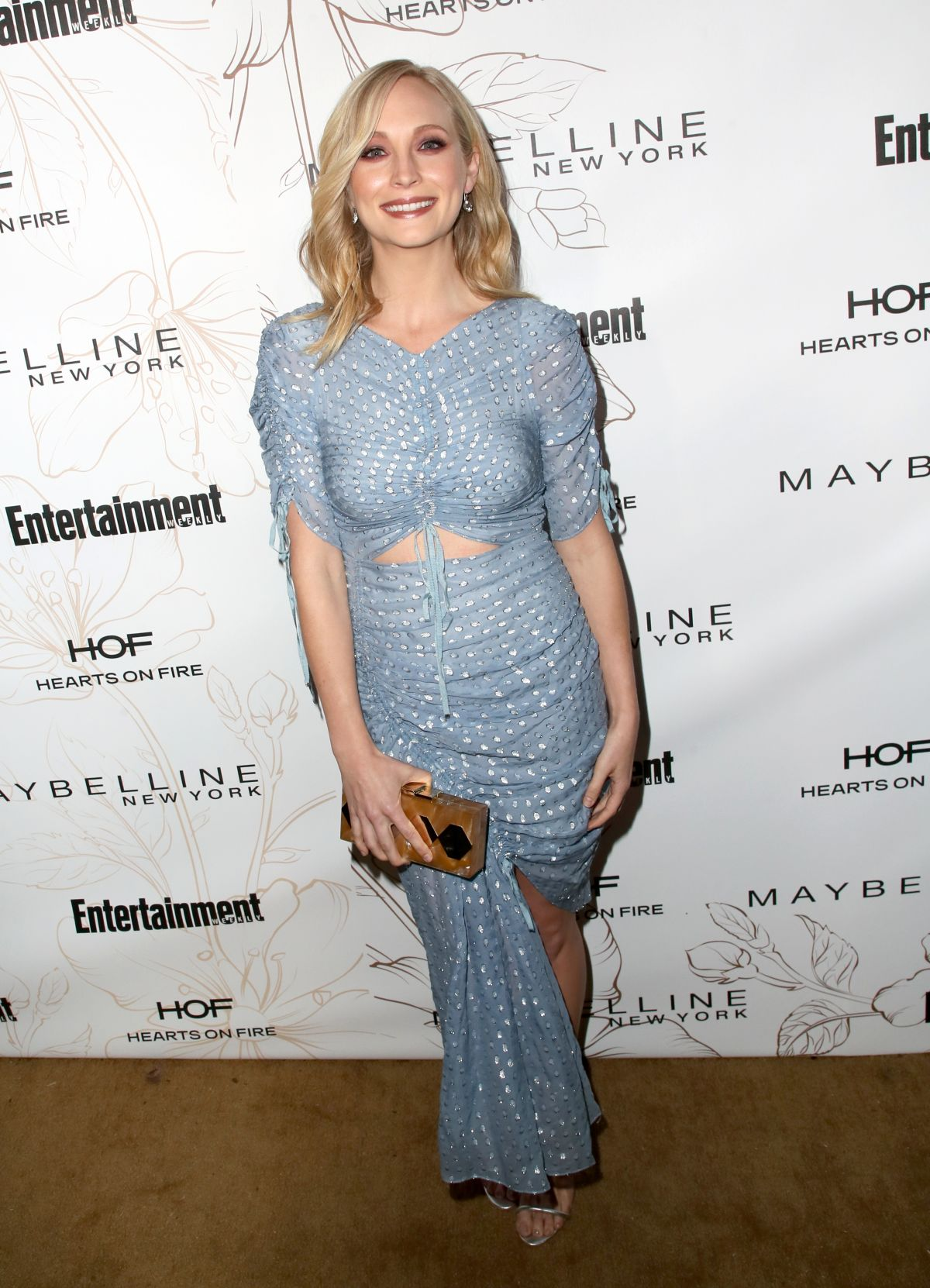 CANDICE KING at Entertainment Weekly Pre-SAG Party in Los Angeles ...