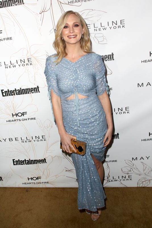 CANDICE KING at Entertainment Weekly Pre-SAG Party in Los Angeles 01/20/2018