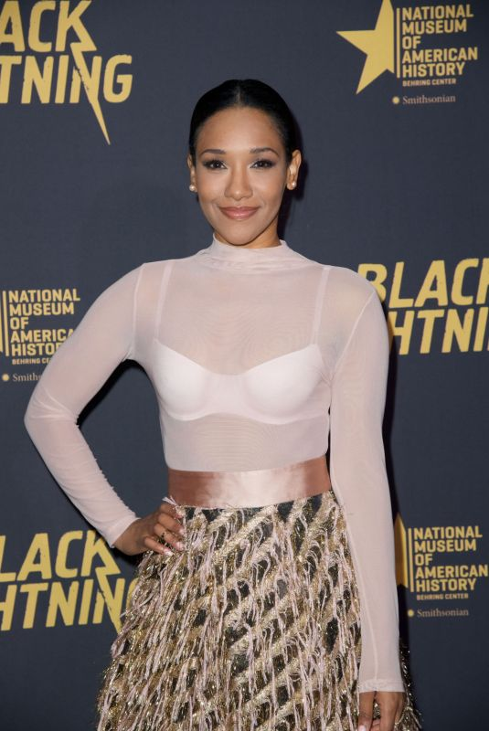 CANDICE PATTON at Black Lightning Premiere in Washington 01/13/2018