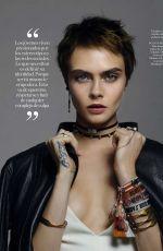 CARA DELEVINGNE in Elle Magazine, Spain February 2018