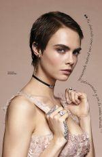 CARA DELEVINGNE in Glamour Magazine, February 2018 Issue