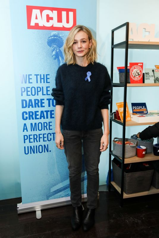 CAREY MULLIGAN at Indiewire Studio at 2018 Sundance Film Festival 01/20/2018