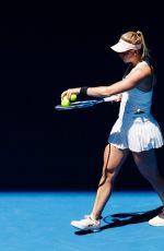 CARINA WITTHOFT at Australian Open Tennis Tournament in Melbourne 01/16/2018